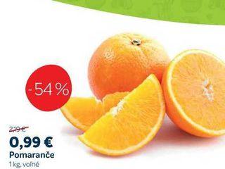 Pomeranče, 1 kg
