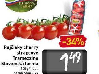Rajčiaky cherry strapcové Tramezzino 250 g