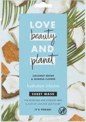 Obrázok Textilná pleťová maska Coconut Water & Mimosa Flower Hydration Infusion, 1 ks