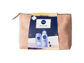 Nivea Smooth Care sprchový gél 250ml + telové mlieko 400ml + antiperspirant 50 ml