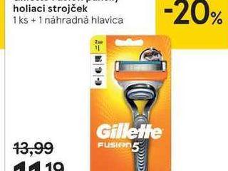 Gillette Fusion pánsky holiaci strojček