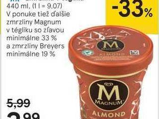 Magnum mandl'ová zmrzlina v tégliku, 440 ml
