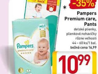 Pampers Premium Care Pants 44-60 ks