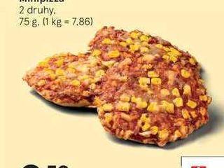 Minipizza, 75 g