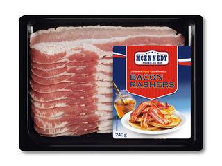 Údená slanina v mede