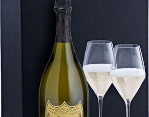 Obrázok Dom Pérignon Vintage 2009 12,5% 0,75 L + 2 poháre