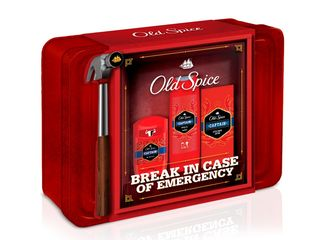 Old Spice Captain Grooming Tin sprchový gél + tuhý deodorant + voda po holení