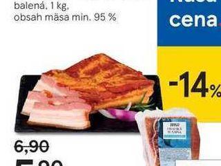 Obrázok Tesco údená oravská slanina, 1 kg