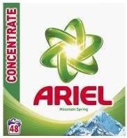 obrázek Ariel Prací Prášek 48 dávek, vybrané druhy