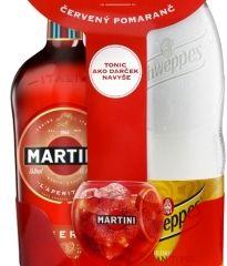 Obrázok Martini Fiero 14,9% 0,75 L DuoPack+Tonic