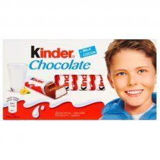 Obrázok Čokoláda mliečna T8 Kinder 100 g