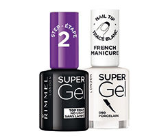 Rimmel lak Super Gel, vybrané odtiene