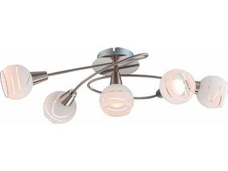 Stropná lampa Elliott 5ramenná