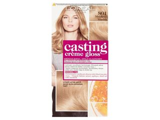L'Oréal Casting Creme Gloss farba na vlasy 801 saténová blond 1x1 ks