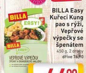 obrázek BILLA Easy Kung pao s rýží 450g