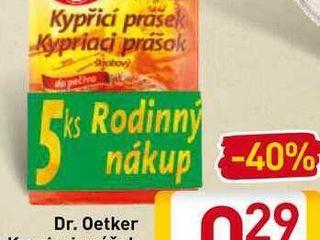 Dr. Oetker kypriaci prášok 5x12 g