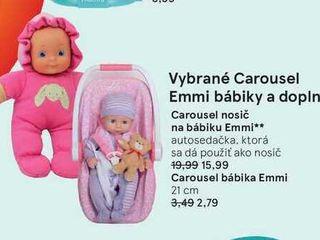 Obrázok Carousel nosič na bábiku Emmi