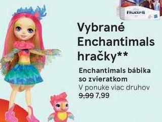 Obrázok Enchantimals bábika so zvieratkom