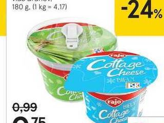 Cottage cheese, 180 g