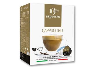Obrázok Kapsuly 100% Cappuccino pre Dolce Gusto® 16ks