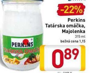 Perkins Tatárska omáčka, Majolenka  315 ml