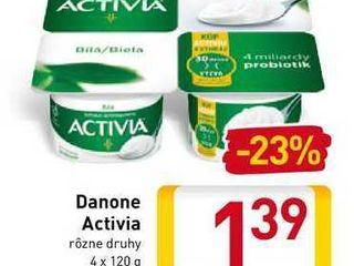 Danone Activia 4x120 g