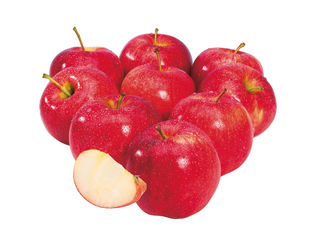 Červené jablká Evelina