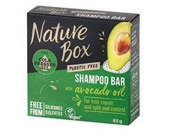 Obrázok Nature Box Avocado Oil tuhý šampón 85g