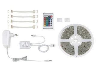 Obrázok Flexibilný LED pás Briloner 5m samolepiaci viacfarebný