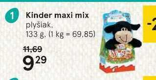 Obrázok Kinder maxi mix, 133 g