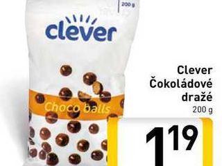 Obrázok  Clever Čokoládové dražé 200 g