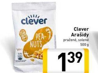 Clever Arašidy  500 g