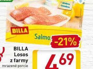 Obrázok  BILLA Losos z farmy 2x125 g