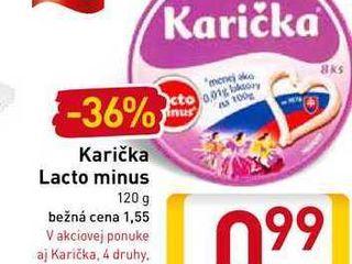 Karička Lacto minus 120 g