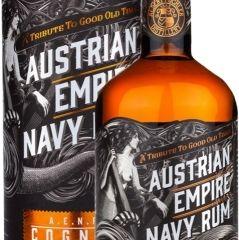 Obrázok Austrian Empire Navy Rum Cognac Cask 46,5% 0,70 L