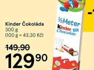 obrázek Kinder čokoláda, 300 g