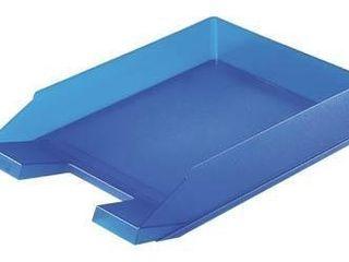 Zásuvka odkladacia transparentná modrá Herlitz 1ks