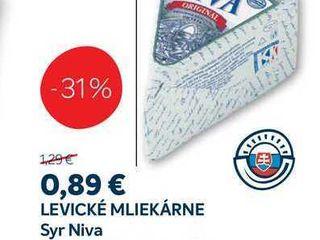 LEVICKÉ MLIEKÁRNE Syr Niva, 100 g