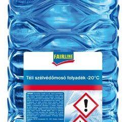 Zimná zmes do ostrekovačov -20°C 5l Fairline 1ks