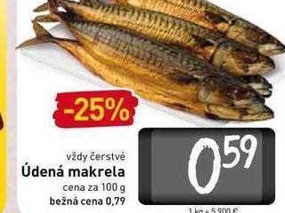 Údená makrela  100 g