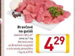 Obrázok Bravčové na guláš 1 kg