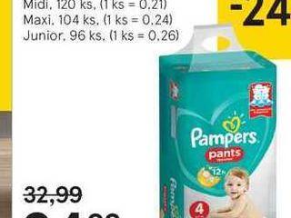 Pampers pants box detské plienky