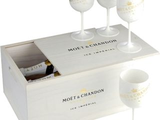 Obrázok Moet & Chandon Ice Impérial Box (2x 12% 0,75 L + 4 poháre)