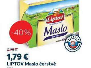 LIPTOV Maslo čerstvé, 250 g