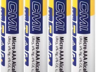 CMI Alkalická batéria AAA, 4 ks