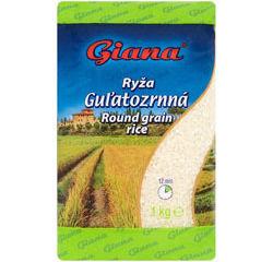 Giana Ryža guľatozrnná 1 kg