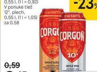 Corgoň 10 %, 0,55 l