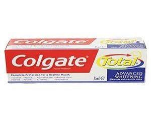 Colgate total whitening zubná pasta 1x75 ml