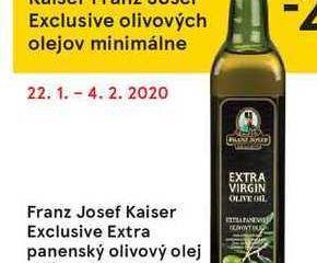 Franz Josef Exclusive olivových olej, 500 ml