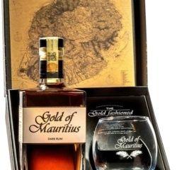 Gold of Mauritius Dark Rum 40% 0,70 L + Pohár
